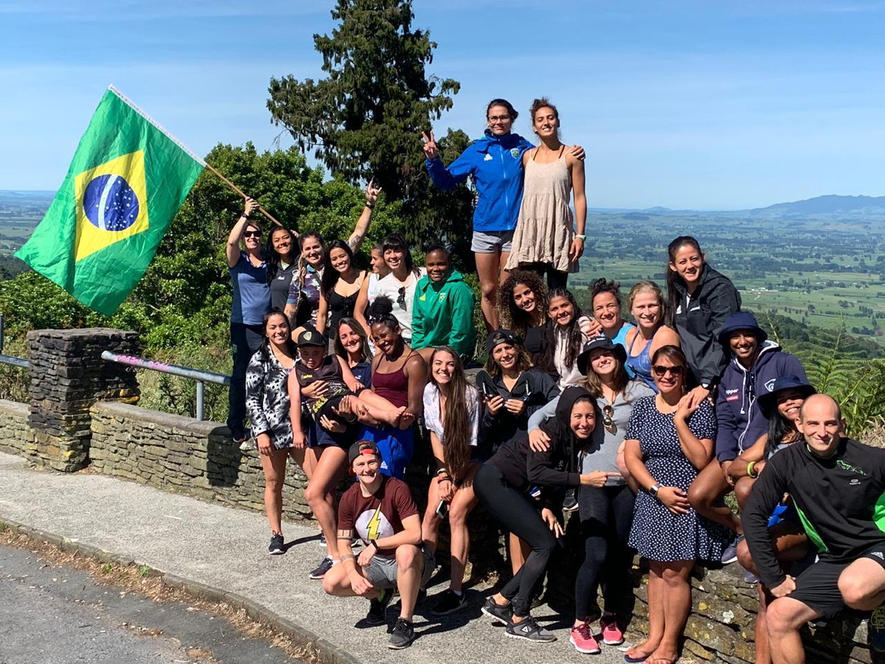 Experiencia neozelandesa para las chicas de Brasil