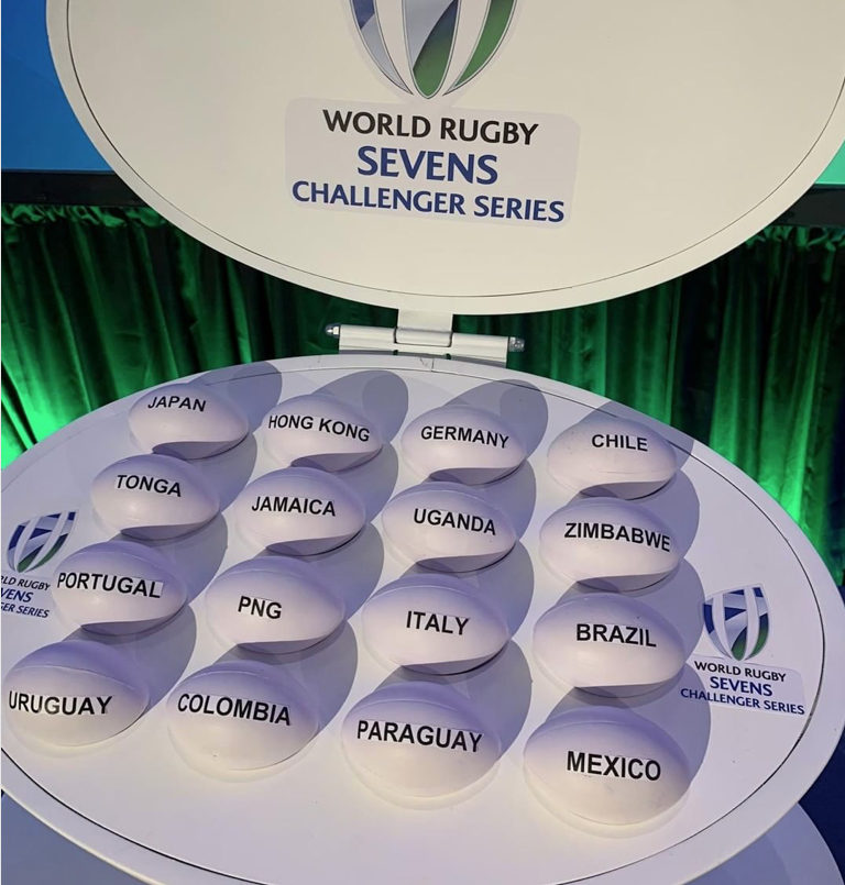 Está el fixture del primer torneo del World Rugby Sevens Challenger Series