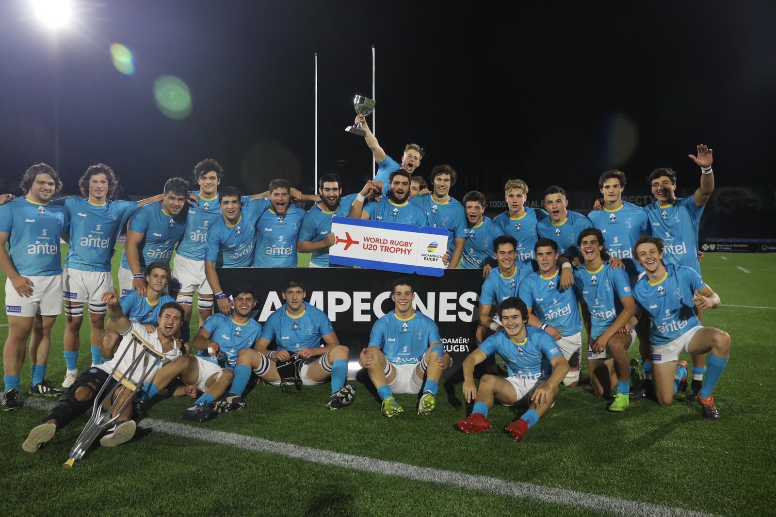 Uruguay ira al Trophy 2020 como campeón sudamericano M19