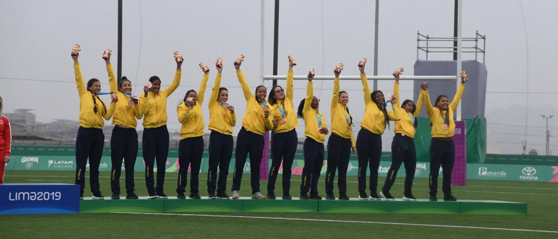 Reconocimiento al rugby colombiano