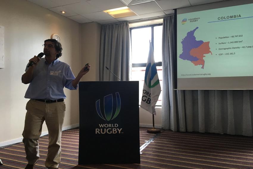 Sudamérica Rugby hizo una presentación de un foro de rugby femenino