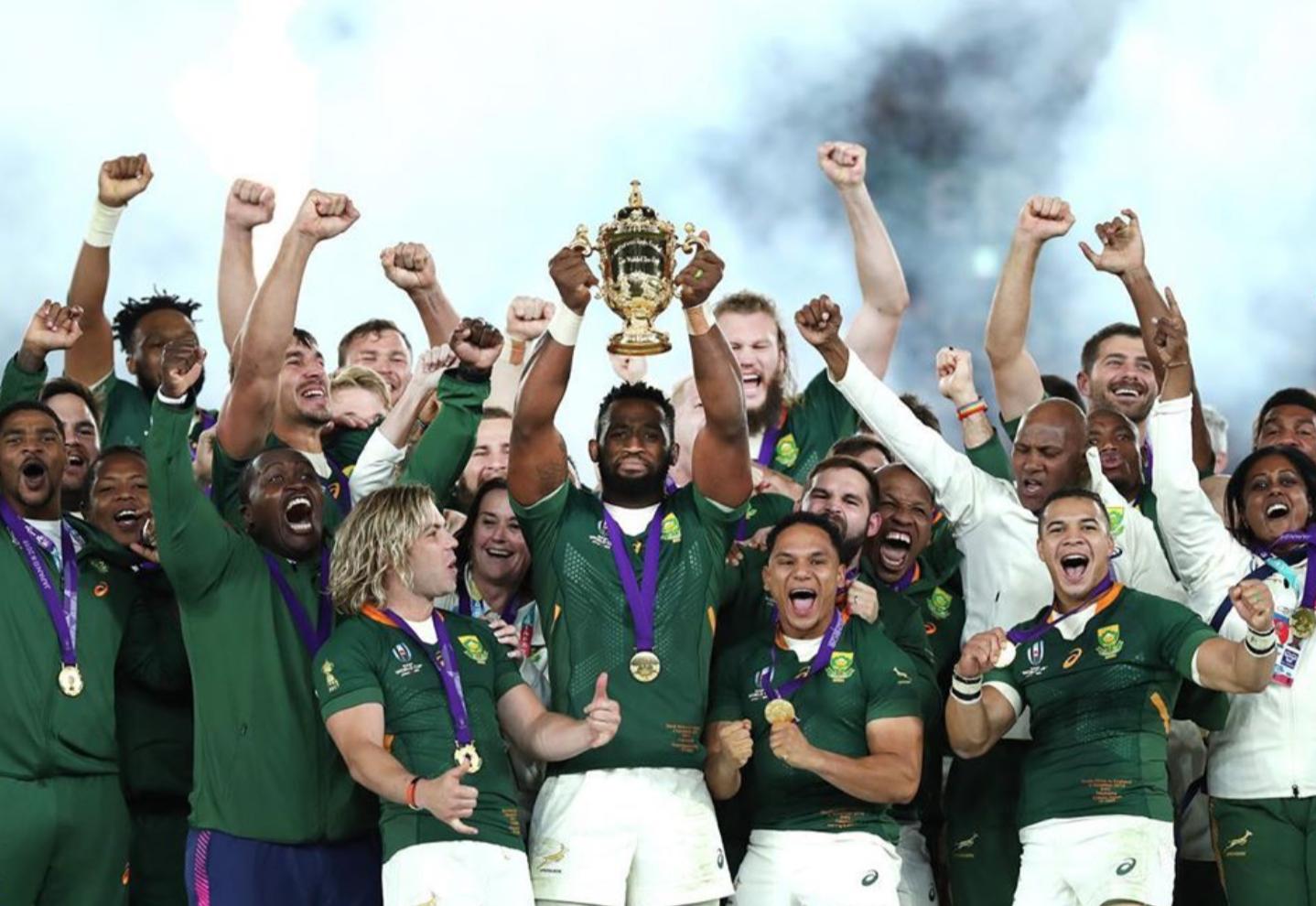Sudáfrica, el gran campeón