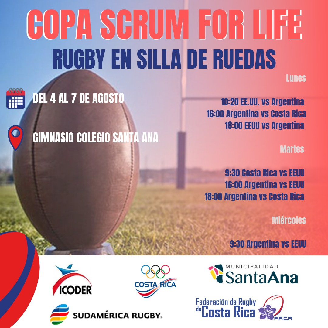 Se disputa en Costa Rica, la Copa Scrum For Life