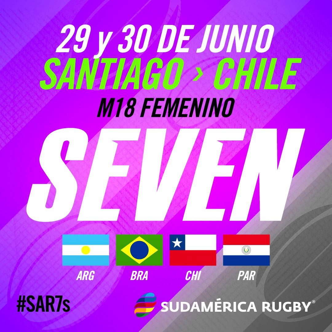 #SAR7s Femenino M18 en Chile