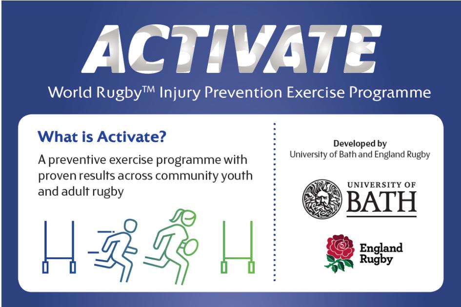 World Rugby lanza un innovador programa de ejercicios preventivos para reducir lesiones