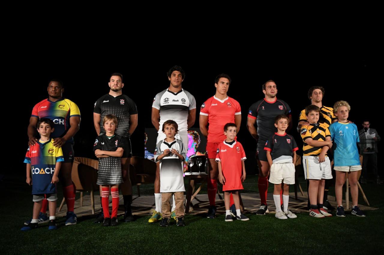 El lanzamiento de la Superliga America de Rugby en fotos