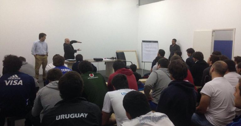 Charla de anti-doping en Uruguay
