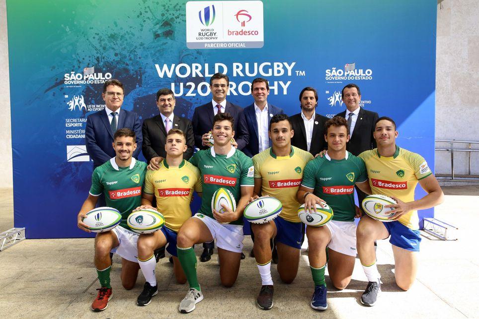 Lanzan oficialmente el World Rugby U20 Trophy en Brasil