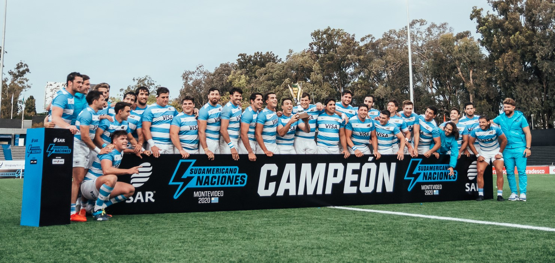 Argentina XV se consagró en Montevideo