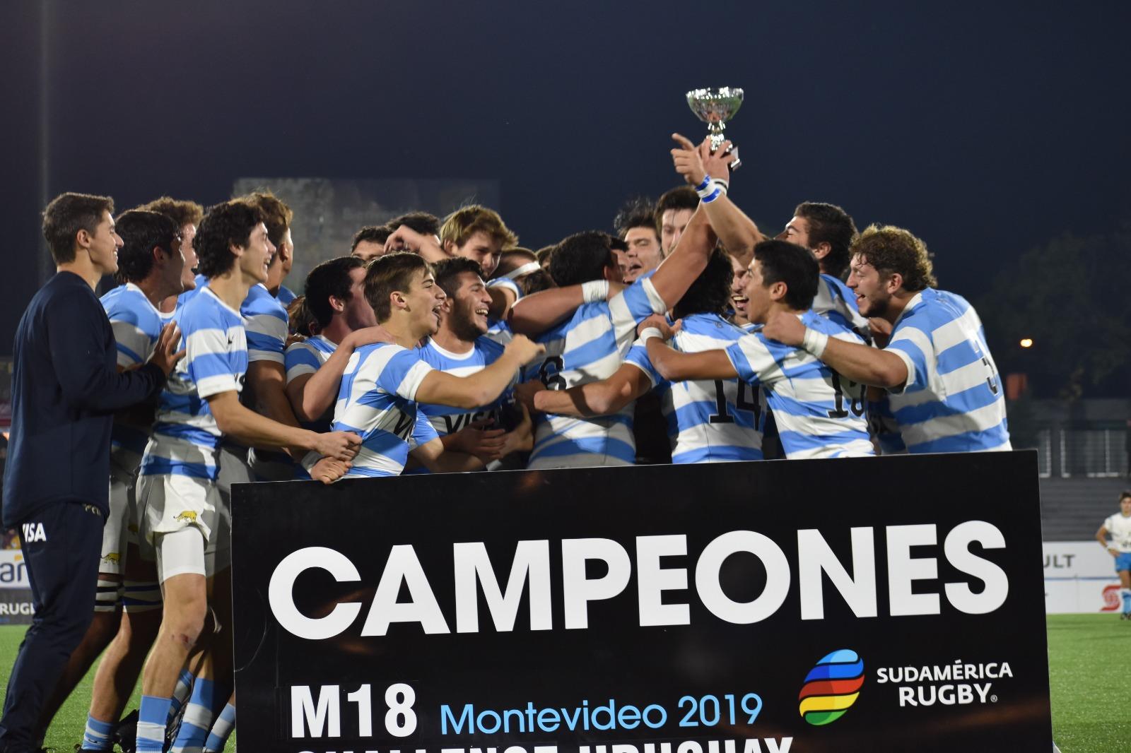 Argentina campeón del Sudamericano M18 Challenge