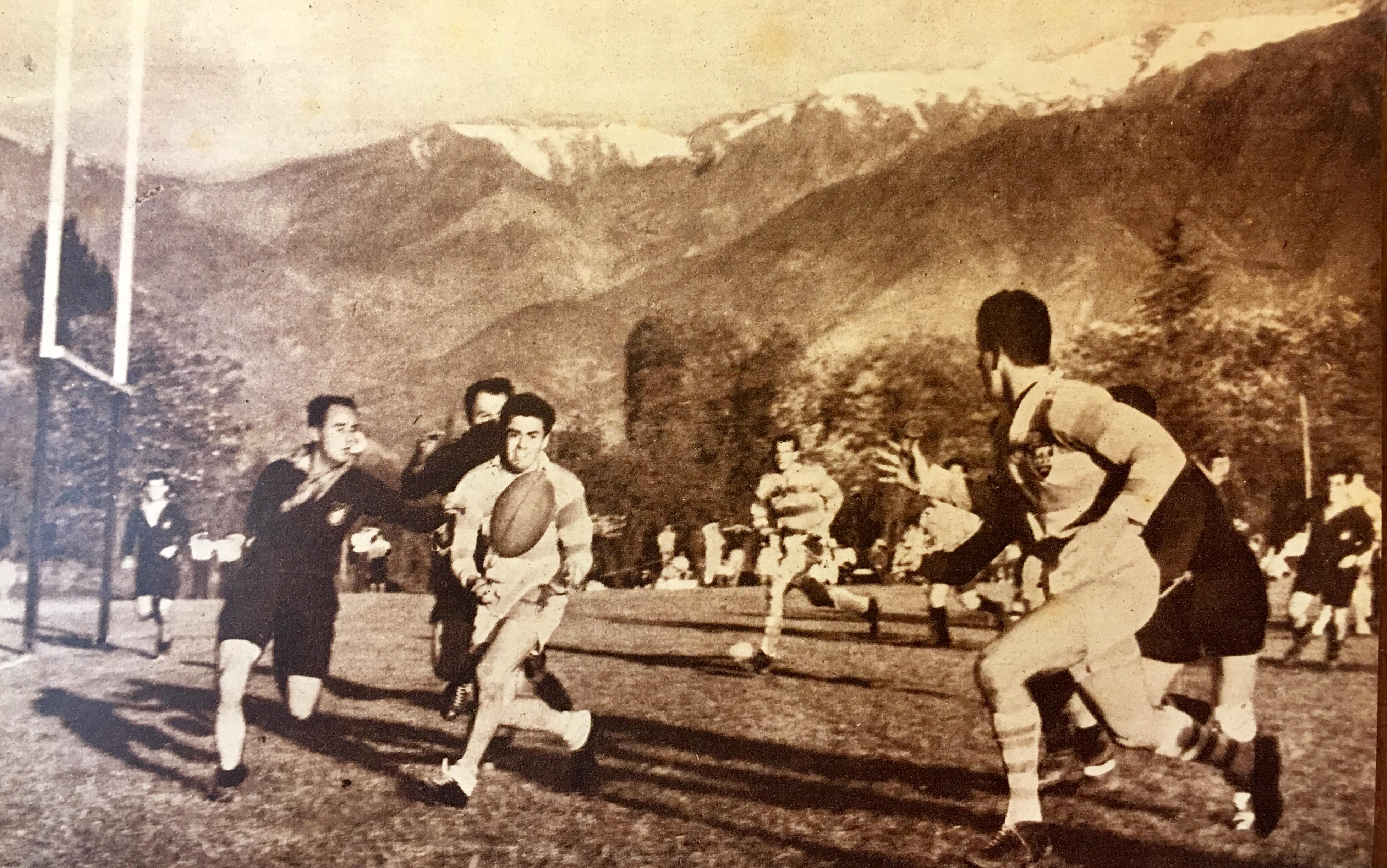 El primer sudamericano, en 1958