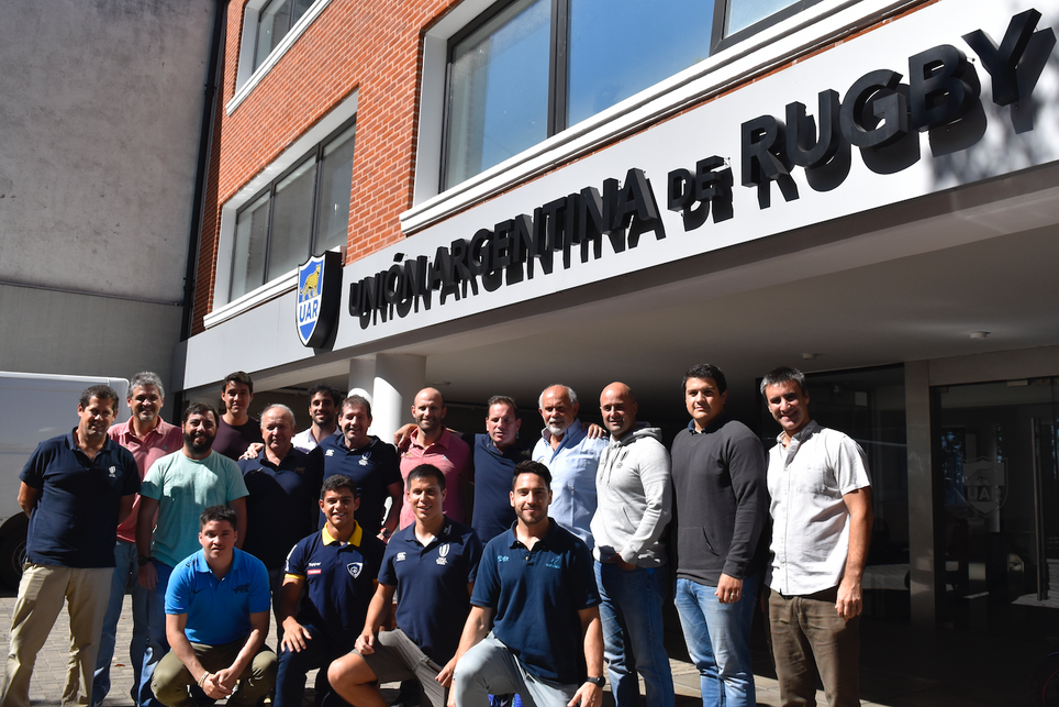 Referís de la región en taller de World Rugby