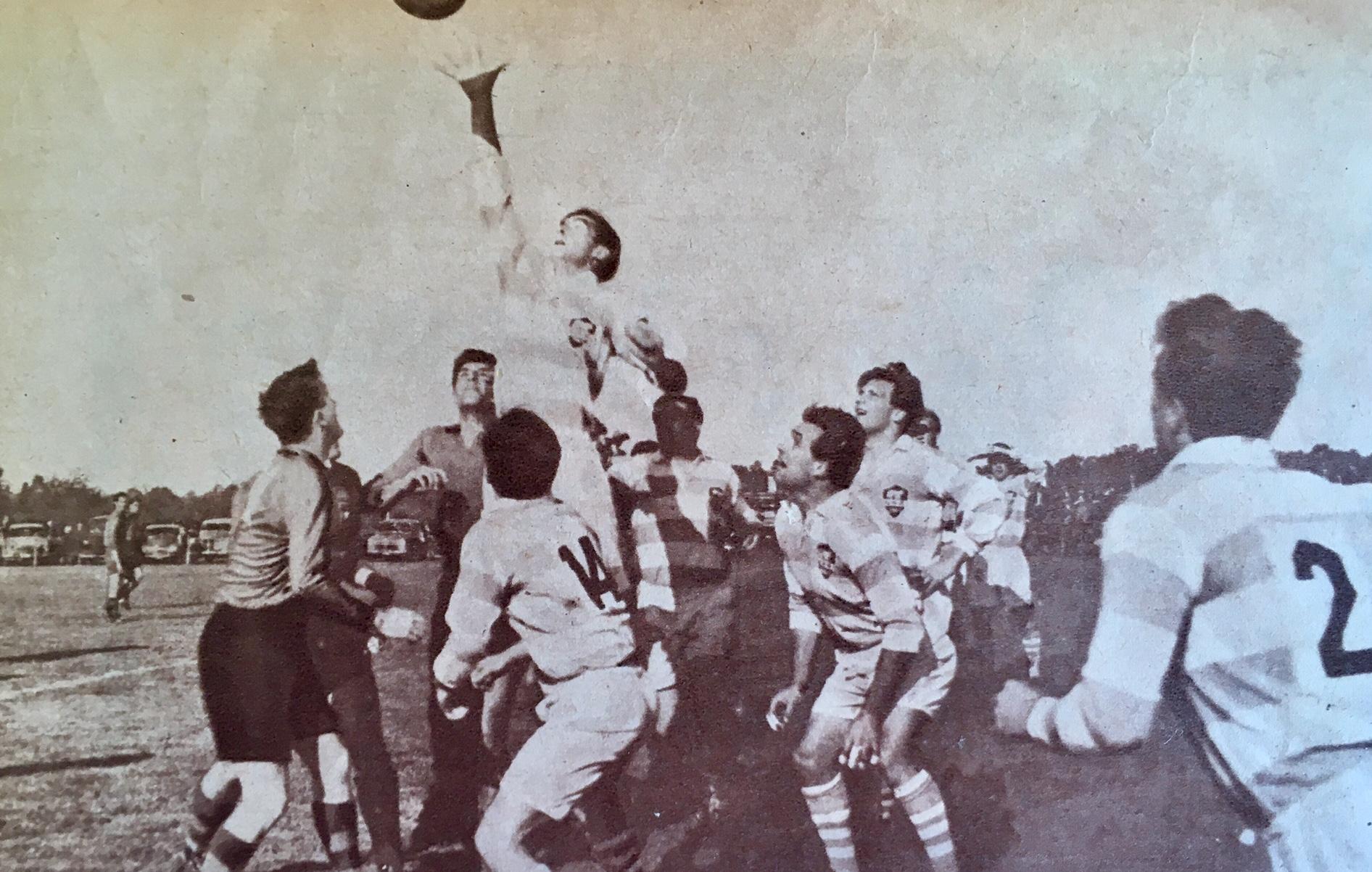 1961 - El rugby se traslada a Montevideo