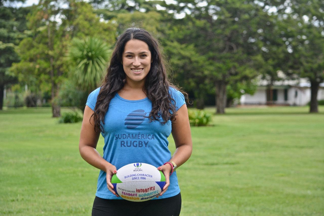 """Soledad Galleguillos: """"Sueño con contribuir a desarrollar el rugby a nivel mundial"""""""