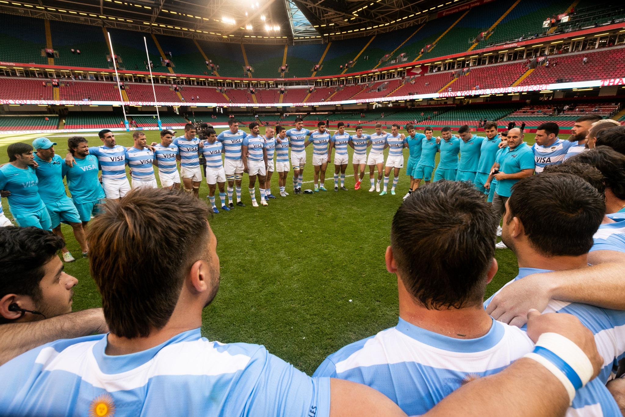 Los Pumas dan el primer paso en el Rugby Championship