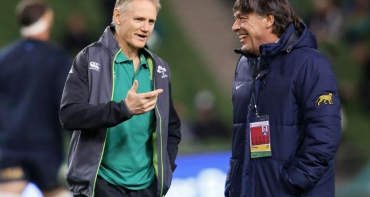 Presentación de planes y objetivos de Sudamérica Rugby a Joe Schmidt