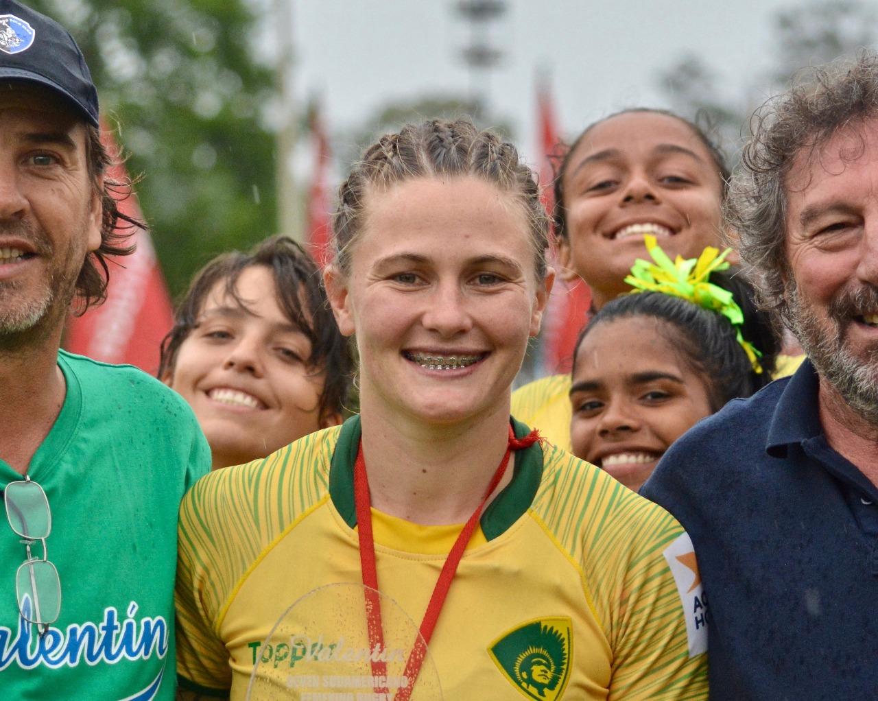 """Raquel Kochhann: """"Queremos enfrentar a las potencias del rugby mundial"""""""