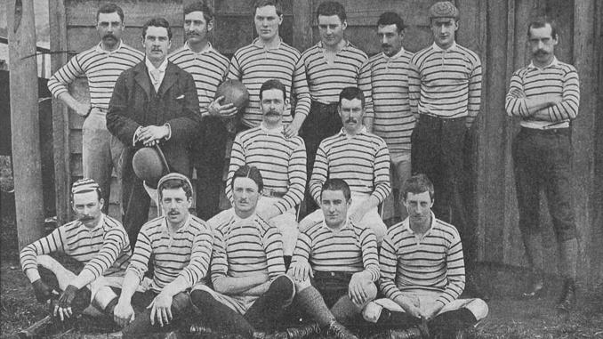 ¿Cuándo se jugó por primera vez el rugby en Chile?