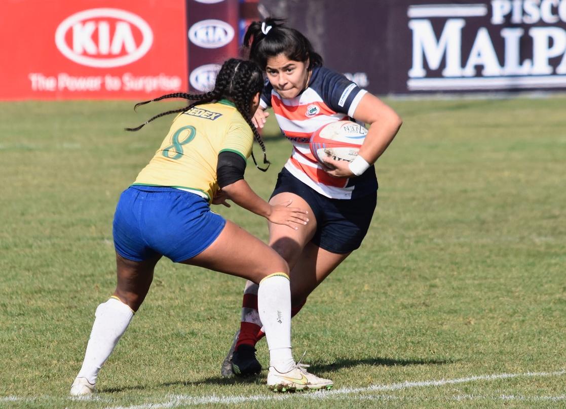Andrea, de Paraguay, una de las Jóvenes Imparables de World Rugby