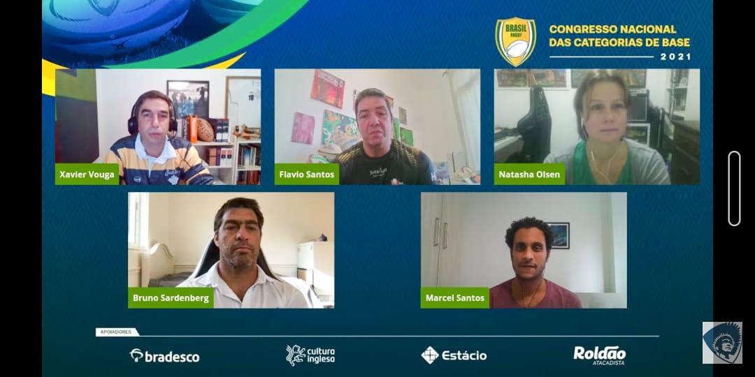 Confederação Brasileira de Rugby organizou o 1º Congresso Nacional das Categorias de Base