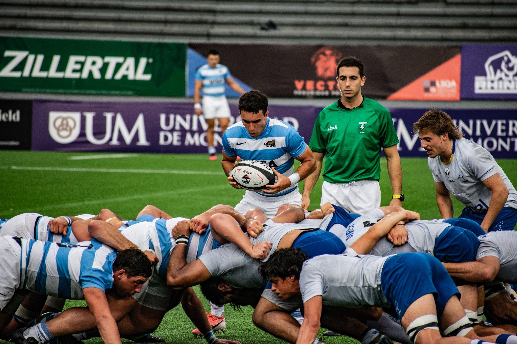 En el Charrúa, Uruguay recibe a Argentina XV