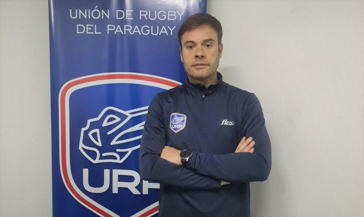 Gustavo Borgognon y muchas buenas noticias para el rugby de Paraguay