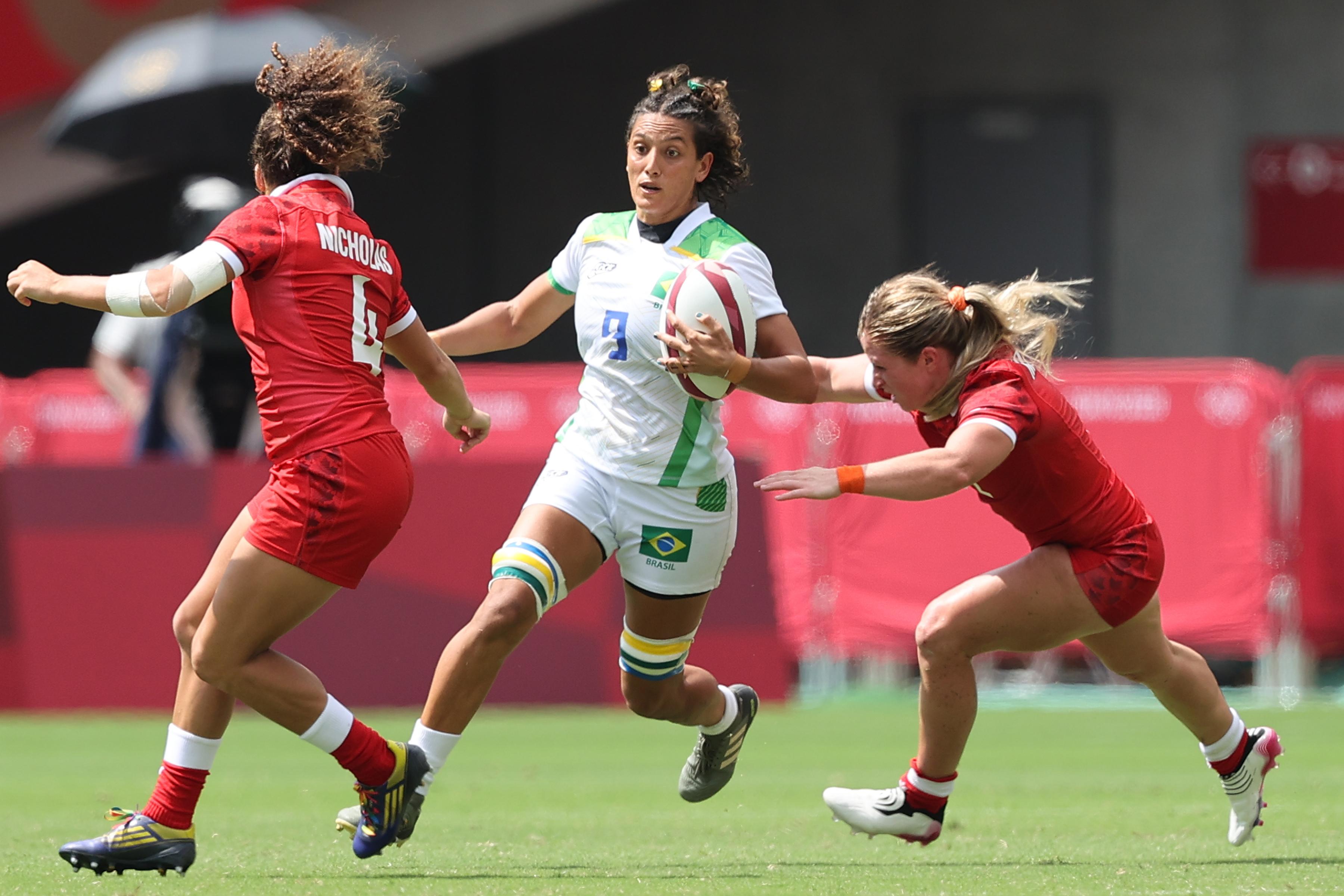 Referência do rugby brasileiro, Haline se despede das Yaras